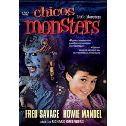 DVD- Chicos monsters