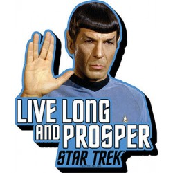 Imán Relieve- Spock Texto