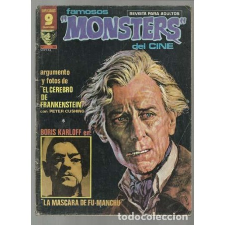 "Famosos ""Monsters"" del Cine Nº 20"