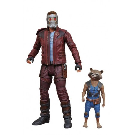 Figura GOTG 2 STAR LORD & ROCKET