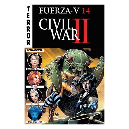 FUERZA V 14 (CIVIL WAR II, TERROR)