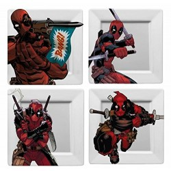 Deadpool Plato Set, Color...