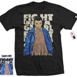 Camiseta Fight like a girl-...