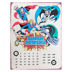 Calendario Super Powers