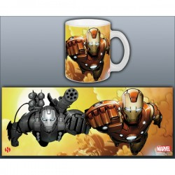 Taza Iron Man- Invincible Duo