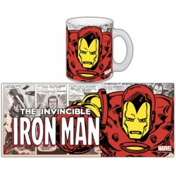 Taza Iron Man- Retro