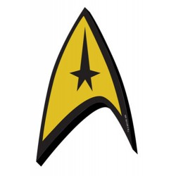 Imán Relieve- Star Trek Logo
