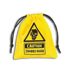 Dice Bag- Caution Zombie...