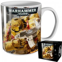 Taza Warhmmer Imperial Fists